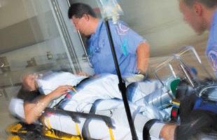 民間救急搬送のイメージ