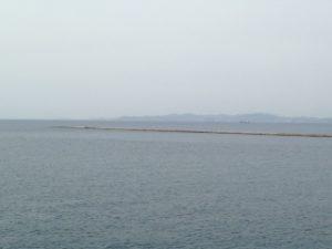 津軽海峡の海